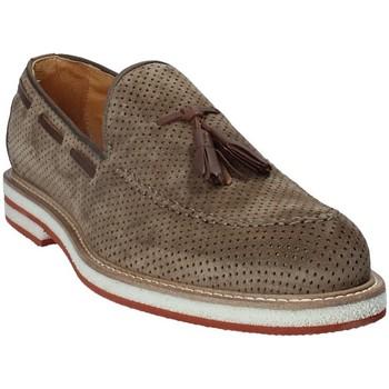 Topánky Muži Mokasíny Exton 675 Hnedá