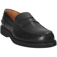 Topánky Muži Mokasíny Exton 9102 čierna