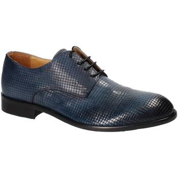 Topánky Muži Derbie Exton 5354 Modrá