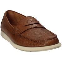 Topánky Muži Mokasíny Maritan G 460390 Hnedá