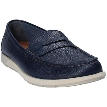 Topánky Muži Mokasíny Maritan G 460390 Modrá