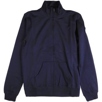 Oblečenie Muži Mikiny Key Up 2F04E 0001 Modrá