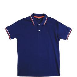 Oblečenie Muži Polokošele s krátkym rukávom Key Up 2Q70G 0001 Modrá