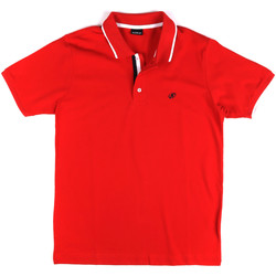 Oblečenie Muži Polokošele s krátkym rukávom Key Up 2Q711 0001 Červená