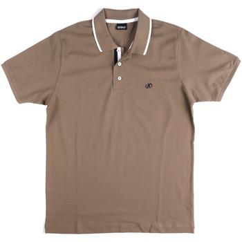 Oblečenie Muži Polokošele s krátkym rukávom Key Up 2Q711 0001 Šedá