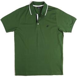 Oblečenie Muži Polokošele s krátkym rukávom Key Up 2Q711 0001 Zelená