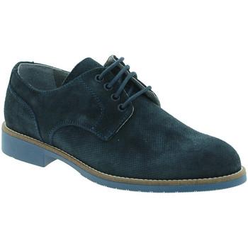 Topánky Muži Derbie Keys 3227 Modrá