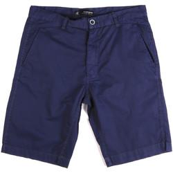 Oblečenie Muži Šortky a bermudy Key Up 2A01P 0001 Modrá
