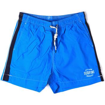 Oblečenie Muži Plavky  Key Up 2H17X 0001 Modrá