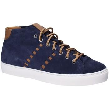 Topánky Muži Členkové tenisky Exton 476 Modrá