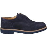 Topánky Muži Richelieu Exton 9196 Modrá