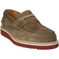 Topánky Muži Mokasíny Exton 5102 Hnedá