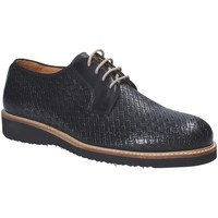 Topánky Muži Derbie Exton 886 čierna