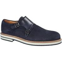 Topánky Muži Derbie Exton 673 Modrá