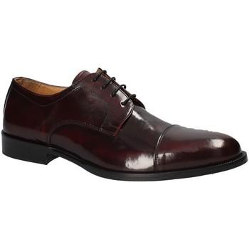 Topánky Muži Derbie Exton 1375 Červená