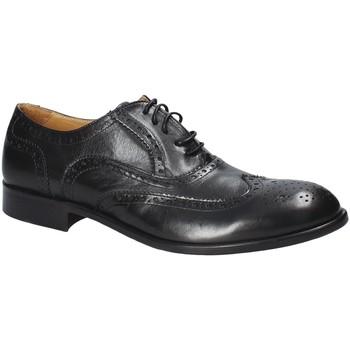 Topánky Muži Derbie Exton 5352 čierna