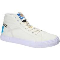 Topánky Muži Členkové tenisky Gas GAM810152 Biely