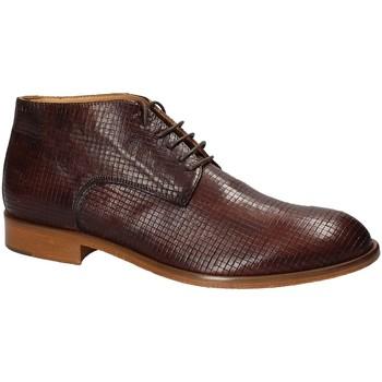 Topánky Muži Polokozačky Exton 5355 Hnedá