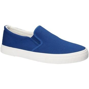Topánky Muži Slip-on Gas GAM810165 Modrá