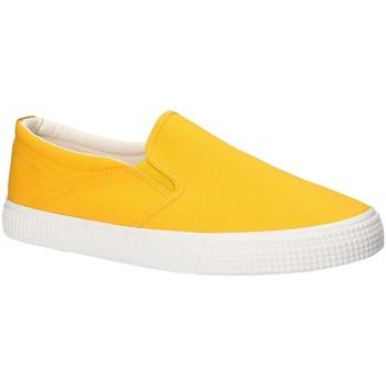 Topánky Muži Slip-on Gas GAM810165 žltá
