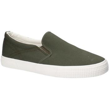 Topánky Muži Slip-on Gas GAM810165 Zelená