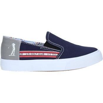 Topánky Chlapci Slip-on U.s. Golf S19-SUK403 Modrá