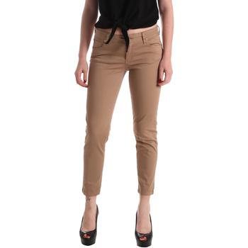 Oblečenie Ženy Nohavice päťvreckové Gaudi 911BD25011 Hnedá