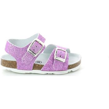 Topánky Dievčatá Sandále Grunland SB1201 Fialový
