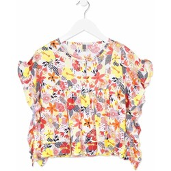 Oblečenie Dievčatá Košele a blúzky Losan 814-3003AB Oranžová