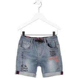 Oblečenie Deti Šortky a bermudy Losan 815-6012AC Šedá