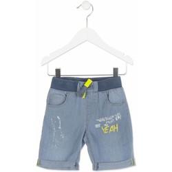 Oblečenie Chlapci Šortky a bermudy Losan 815-9002AC Modrá