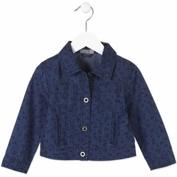 Oblečenie Deti Džínsové bundy Losan 816-2002AD Modrá