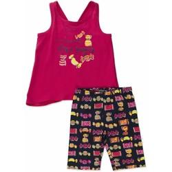 Oblečenie Dievčatá Komplety a súpravy Losan 816-8044AD Ružová