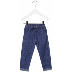 Oblečenie Deti Nohavice Chinos a Carrot Losan 816-9010AD Modrá