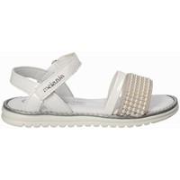 Topánky Dievčatá Sandále Melania ME6094F8E.B Biely