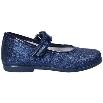 Topánky Dievčatá Balerínky a babies Melania ME1052B8E.C Modrá