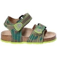 Topánky Deti Sandále Asso 64205 Hnedá