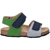 Topánky Deti Sandále Asso 64204 Šedá