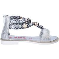 Topánky Dievčatá Sandále Asso 64075 Šedá