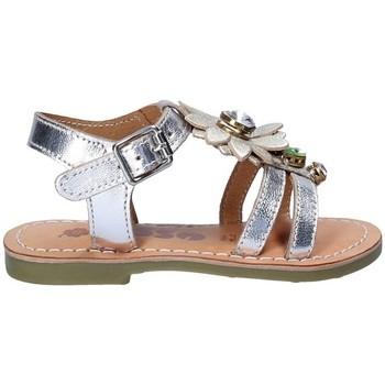 Topánky Dievčatá Sandále Asso 55002 Šedá