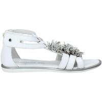 Topánky Dievčatá Sandále Melania ME6092F8E.C Biely