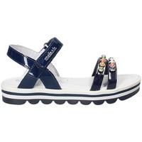 Topánky Dievčatá Sandále Melania ME4162D8E.A Modrá