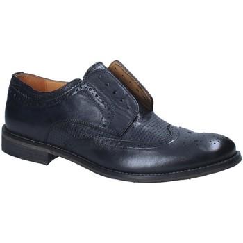 Topánky Muži Derbie Exton 9434 Modrá