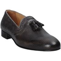 Topánky Muži Mokasíny Exton 1059 Šedá