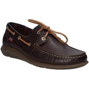 Topánky Muži Námornícke mokasíny CallagHan 14400 Hnedá