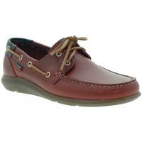 Topánky Muži Námornícke mokasíny CallagHan 14400 Červená