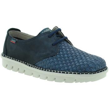 Topánky Muži Derbie CallagHan 14502 Modrá