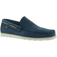 Topánky Muži Mokasíny CallagHan 15400 Modrá