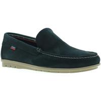 Topánky Muži Mokasíny CallagHan 85100 Modrá