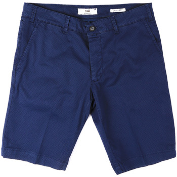 Oblečenie Muži Šortky a bermudy Sei3sei PZV132 8136 Modrá
